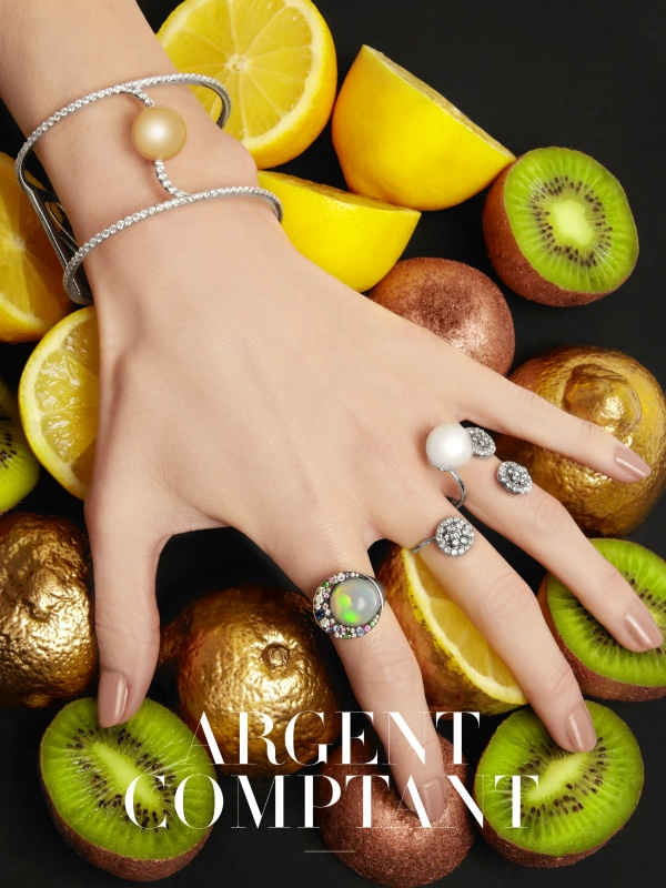 Hand Model Eva-Marie - hands with jewelry for Factice magazine - UK - Body London